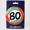Button XL 80 jaar
