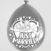 Party ballonnen Just Married (8 stuks)